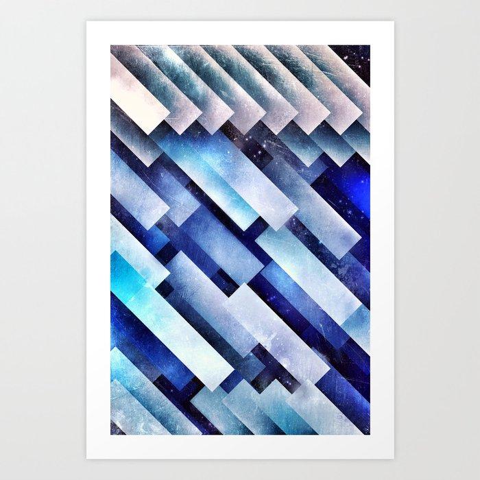 ystro blww Art Print