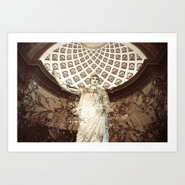 What to See at The Louvre Art Print