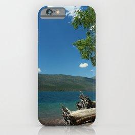 Serene McDonald Lake iPhone Case