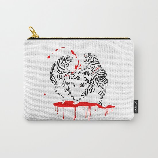 Tora Tora! // (tiger fight) Carry-All Pouch