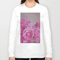 rose Long Sleeve T-shirts featuring Rose by Pure Nature Photos
