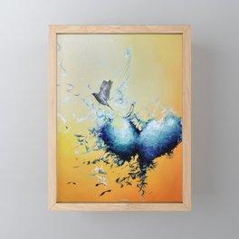 Fly Framed Mini Art Print