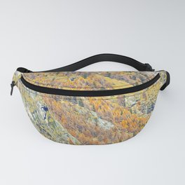 Alps in autumn Fanny Pack