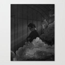 Silence. Canvas Print