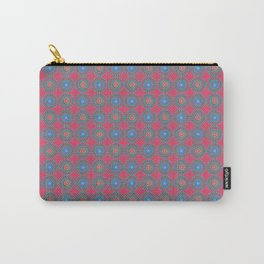 Spinners Pattern Carry-All Pouch