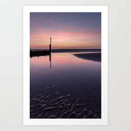 Spring Sunset Art Print