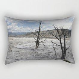 Mammoth Hot Spring  Terrace Rectangular Pillow