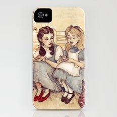 Dorothy and Alice iPhone (4, 4s) Slim Case