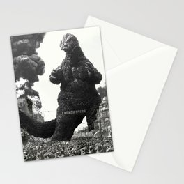 New Orleans Godzilla Attack 1908 Stationery Cards