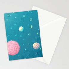 Brain Planet (8bit) Stationery Cards