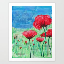 They Shall Not Grow Old Art Print