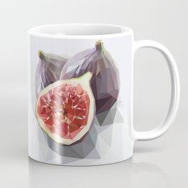 Polygon Fig Style - Low Poly Coffee Mug