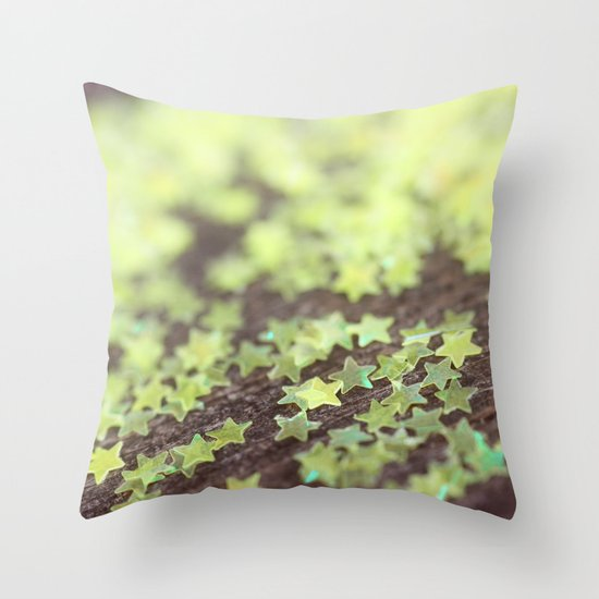 Scatter Your Wishes Throw Pillow