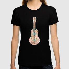 Modern Boho Ukulele T-shirt