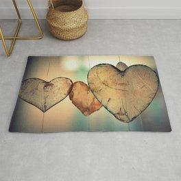 Hearts   Coeurs Rug