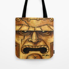 TIKI Frankenstein Tote Bag