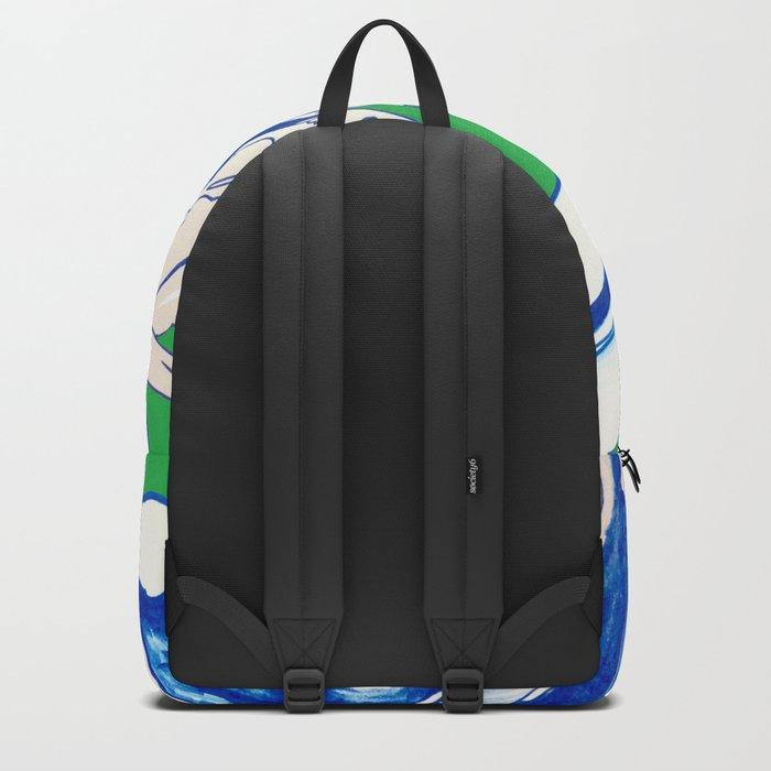 Saint Patrick's Day Succulent Backpack