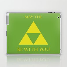 May the triforce be with you Laptop & iPad Skin