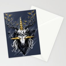 Deer Unicorn Stationery Cards