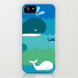 Have a Whale of a Time iPhone Case