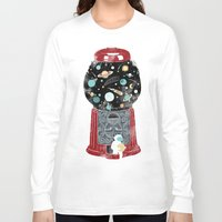 gumball Long Sleeve T-shirts featuring My childhood universe by I Love Doodle