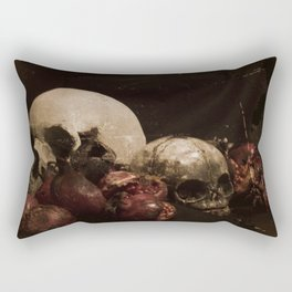 The Ripened Wisdom of the Dead Rectangular Pillow