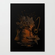 The Lost Track Canvas Print