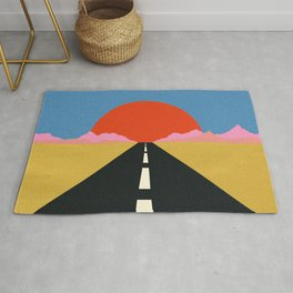 Road To Sun Rug