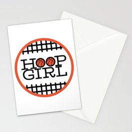 Hoop Girl - Girls' & Women's Basketball Stationery Cards