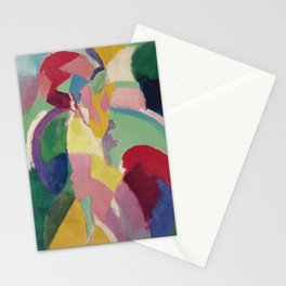 La Parisienne - Robert Delaunay - Art Poster Stationery Cards