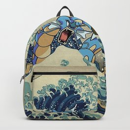 The Great Wave Off Gyarados Backpack