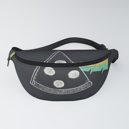 The Dark Slice Of The Moon Fanny Pack