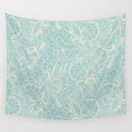 Tender doily pattern Wall Tapestry