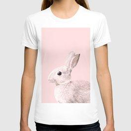 Blush Baby Bunny #1 #decor #art #society6 T-shirt