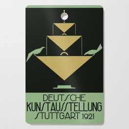Stuttgart art expo: feed the birds Cutting Board