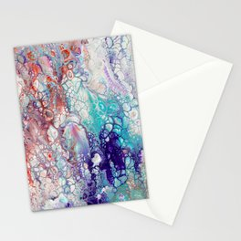 Fantasy (red, blue, purple) Stationery Cards