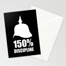 Prussia 150% discipline Stationery Cards