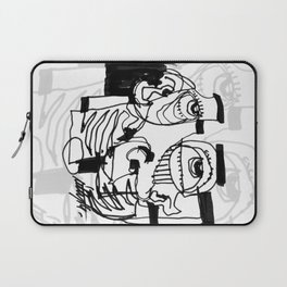 Marker Abstract Laptop Sleeve