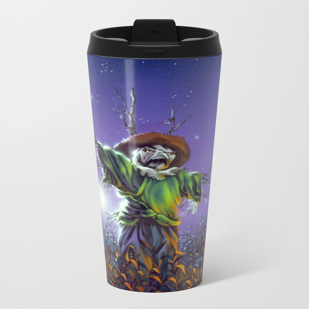 The Scarecrow Walks At Midnight Travel Cup TRM8972278