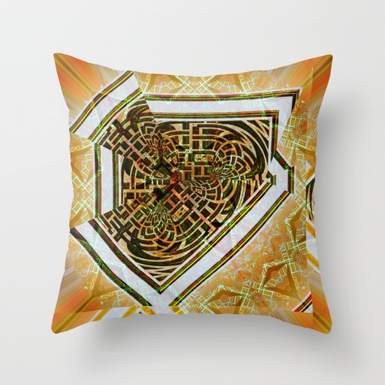 Mandala Abstract II Throw Pillow