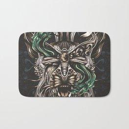Moth and tiger Bath Mat