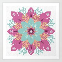 om Art Prints featuring Om by zakumy