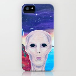 Life On Another Planet iPhone Case