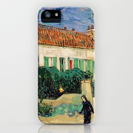 Vincent Van Gogh : White House at Night iPhone Case