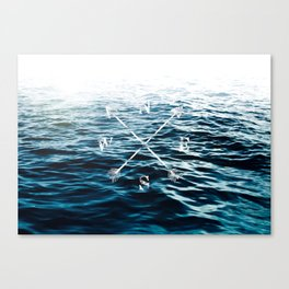 Winds of the Sea Canvas Print
