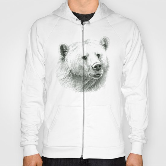 Sentimental bear Hoody