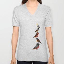 Bird Tower Unisex V-Neck