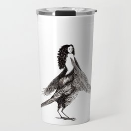 Bird Woman Travel Mug