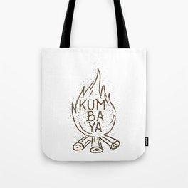 Kumbaya campfire Tote Bag