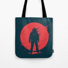 Red Sphere Tote Bag